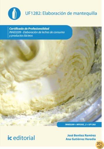Elaboración de mantequilla. INAE0209 (Spanish Edition)