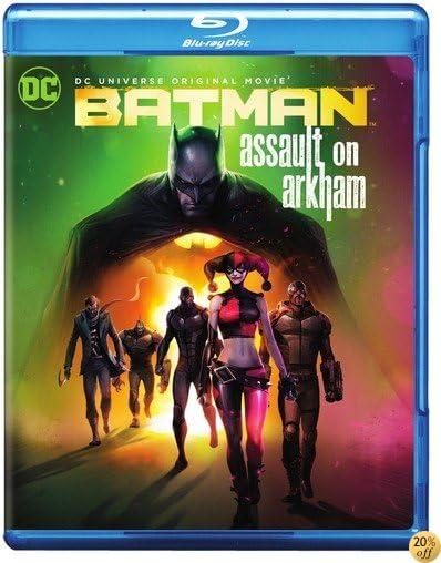 TBatman: Assault on Arkham [Blu-ray]