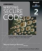 Writing Secure Code (Developer Best…