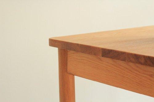 北美进口白橡原木书桌