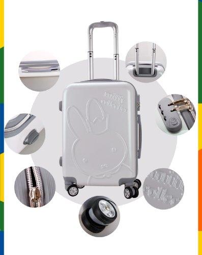 miffy 米菲 20寸 22寸 行李箱pc登机箱旅行箱包万向轮
