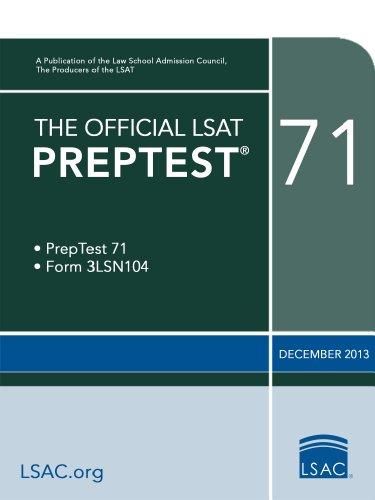 the-official-lsat-preptest-71-the-official-lsat-preptests