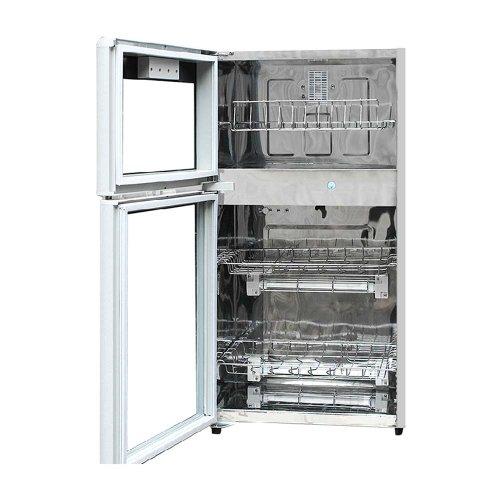 臭氧保洁,高温消毒 智能温控技术,自动延长或减短杀菌时间 超厚不锈钢