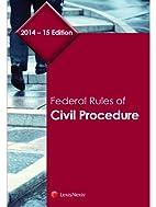 Federal Rules of Civil Procedure, 2014-2015…