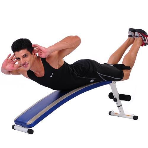 仰卧板锻炼方法图解
