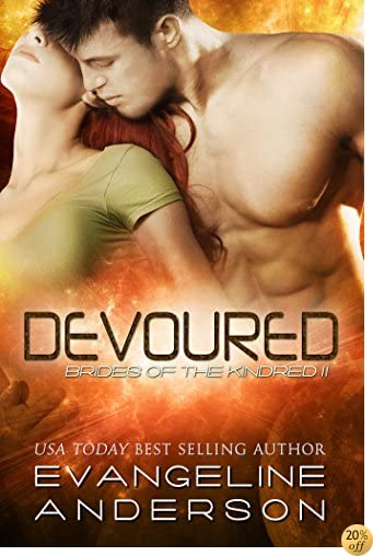 TDevoured: Brides of the Kindred 11(Alien BBW Shapeshifter Romance)