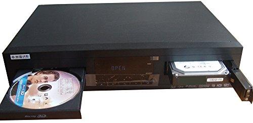 春源丽影 3d蓝光硬盘光盘网络一体高清播放机slw-01