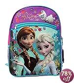Disney Frozen Princess Elsa and Anna School Backpack