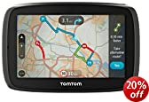 TomTom GO 40 4-inch Sat Nav with Western Europe Maps and Lifetime Map and Traffic Updates