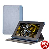 Belkin Shield Fit Chambray Case for Fire HD 7 (4th Generation), Slate