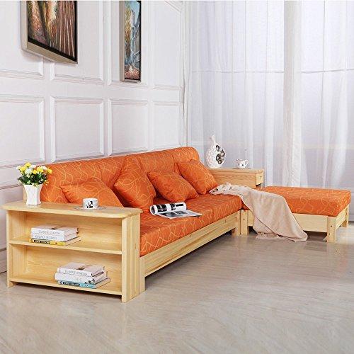 实木转角沙发 松木沙发