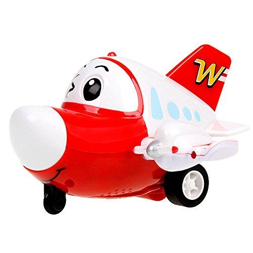 102惯性玩具飞机声光惯性玩具飞机 动漫q版可爱惯性车