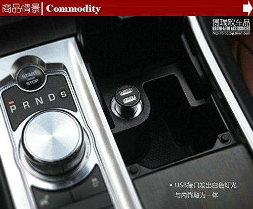 ongo 形动 苹果iphone6车载充电器 内发光车充 点烟器