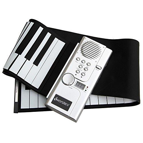 诺艾 手卷钢琴 键盘可以卷起来的钢琴 儿童 成人 都可用的电子钢琴 折
