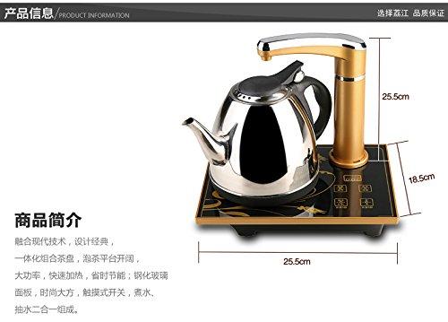 荔江 茶具套装 功夫茶具 泡茶炉 自动抽水器桶装水 自动上水电热水壶