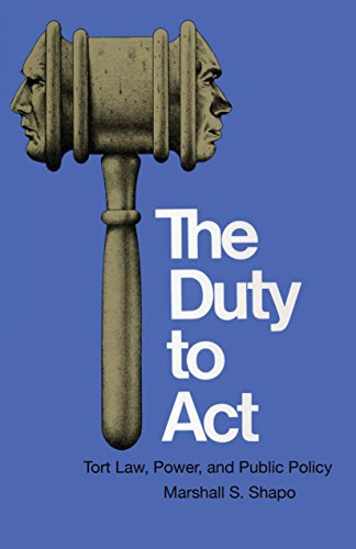 the-duty-to-act-tort-law-power-and-public-policy