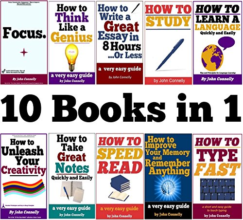 10-books-in-1-memory-speed-read-note-taking-essay-writing-how-to-study-think-like-a-genius-type-fast-focus-concentrate-engage-unleash-creativity-the-learning-development-book-series