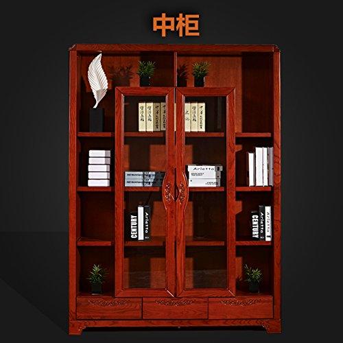 御品工匠 全实木书柜 书架 自由组合书柜 储物柜 书橱