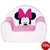 babycalin Disney Fauteuil Club Assise 25 cm Minnie Patchwork Rose