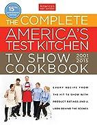 America's Test Kitchen TV Complete book 2015…