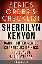 Sherrilyn Kenyon Series Reading Order:…