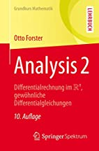 Analysis 2: Differentialrechnung im IRn,…