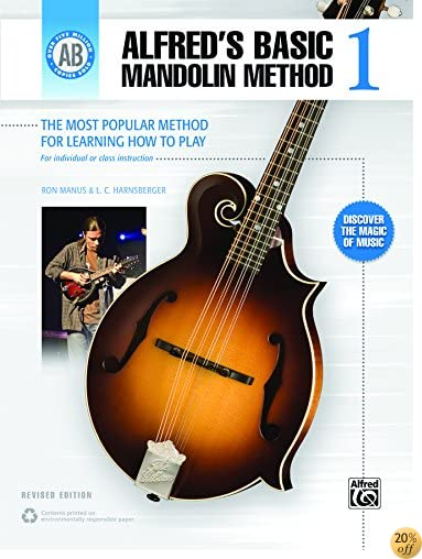 Alfred's Basic Mandolin Method 1 (Revised): The Most Popular Method for Learning How to Play (Mandolin) (Alfred's Basic Mandolin Library)