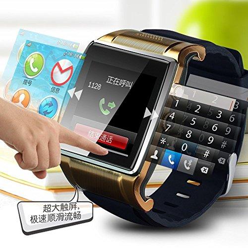 手腕上的智能手机 插入sim卡,独立通话 完美的触屏体验