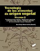 Tecnología de los alimentos de origen…