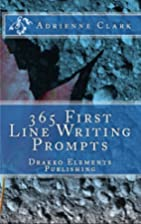 365 First Line Writing Prompts (KINDLE) by…