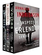 The Inspector Erlendur Series, Books 1-3:…