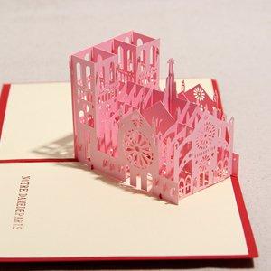 礼道 手工创意3d立体贺卡 新年贺卡套装图片