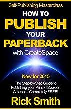 Self-Publishing Masterclass - HOW TO PUBLISH…