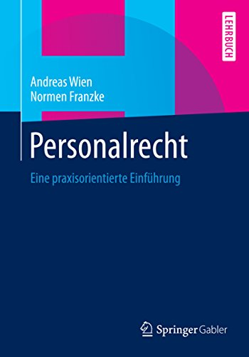 personalrecht-eine-praxisorientierte-einfhrung-german-edition