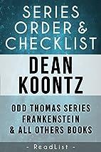 Dean Koontz Series Reading Order: Odd Thomas…