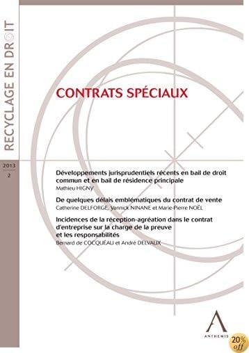 Contrats spéciaux: (Droit belge) (French Edition)