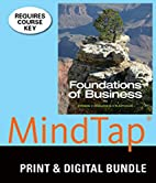 Bundle: Foundations of Business, 4th MindTap…