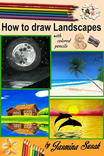 how-to-draw-landscapes-with-colored-pencils-in-realistic-style-for-beginner-to-intermediate-artist-step-by-step-tutorials-how-to-draw-nature-learn-to-draw-lifelike-landscape-sunset-sea-trees