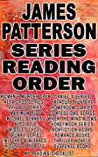 JAMES PATTERSON: SERIES READING ORDER: MY…