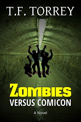[ Cover of Zombies Versus Comicon: A Novel]