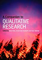 A Companion to Qualitative Research by Uwe…