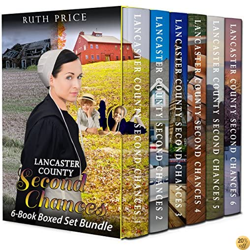 TLancaster County Second Chances 6-Book Boxed Set Bundle (Lancaster County Second Chances (An Amish Of Lancaster County Saga) 7)