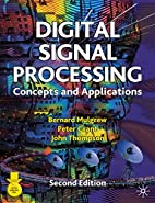 Digital Signal Processing: Concepts and…