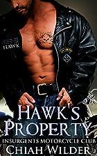 Hawk's Property (Insurgents MC #1) by Chiah…