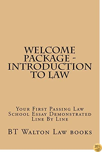 Welcome Package - Introduction To Law (Electronic Lending Allowed): (Electronic Lending Allowed)
