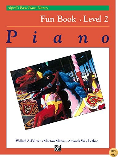 TAlfred's Basic Piano Library - Fun Book 2: Learn How to Play Piano with This Esteemed Method