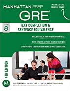 GRE Text Completion & Sentence Equivalence…