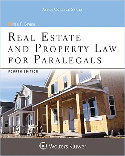 real-estate-and-property-law-for-paralegals-aspen-college-series