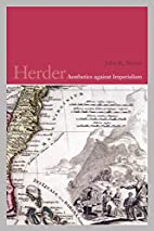 Herder: Aesthetics against Imperialism…