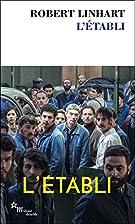 L'Établi by Robert Linhart